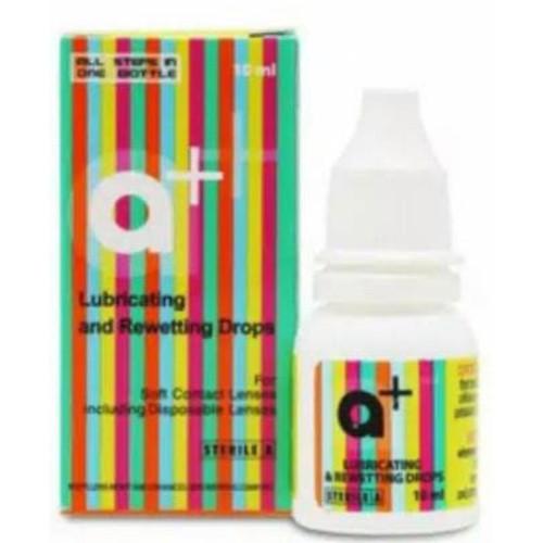 Foto Produk renu tetes mata renu / cairan pelembab softlens 8 ml untuk mata kering - Tetes A+ dari 1softlens