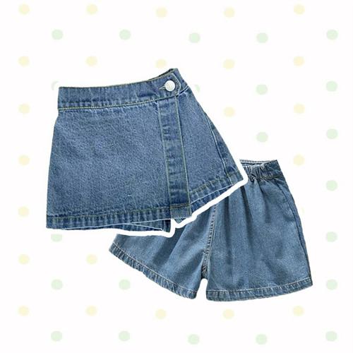 Foto Produk Kia Denim Skort / Rok Celana Bayi / Bawahan Bayi - 9-12 Bulan dari Abby Baby