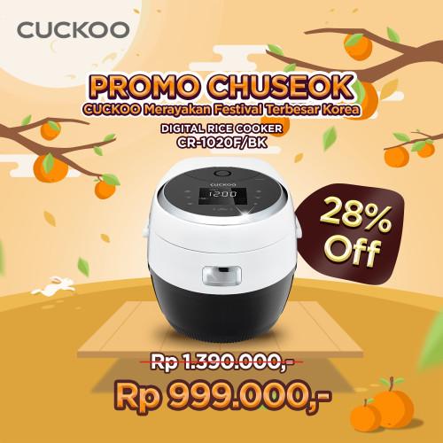 Foto Produk CUCKOO All in One MICOM Cooker CR-1020F/BK, No. 1 In KOREA dari CuckooIndonesia