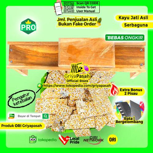 Foto Produk ALAT PEMOTONG KERIPIK TEMPE SAGU TERLARIS BONUS PISAU CADANGAN dari Griyapasah Official Store