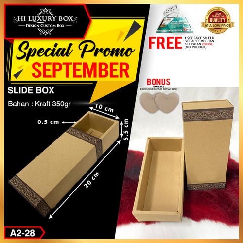 Foto Produk Slide Box|Kardus|Dus|Packaging|Dus murah|Kotak Kraft slide| A2-28 dari Hi Luxury Box