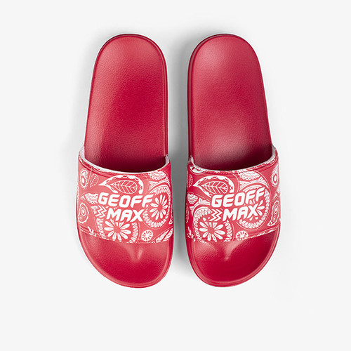 Foto Produk Geoff Max Official - Bardsley Red   Slippers   Sandal Pria   Sandal - 39 dari Geoff Max Official