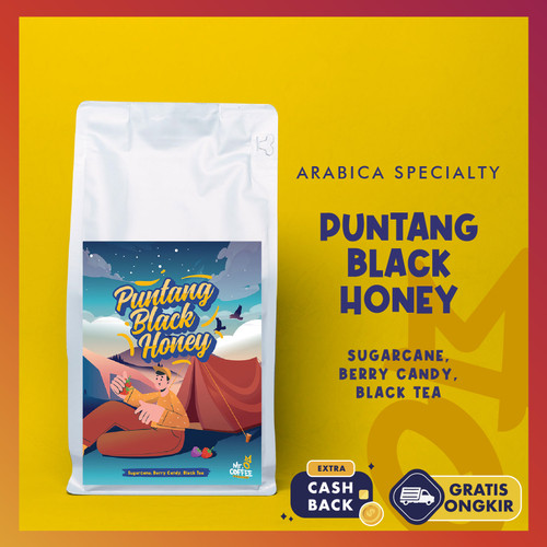 Foto Produk Arabica Specialty Coffee Puntang Black Honey 500g - BIJI SANGRAI dari Mr. O Coffee