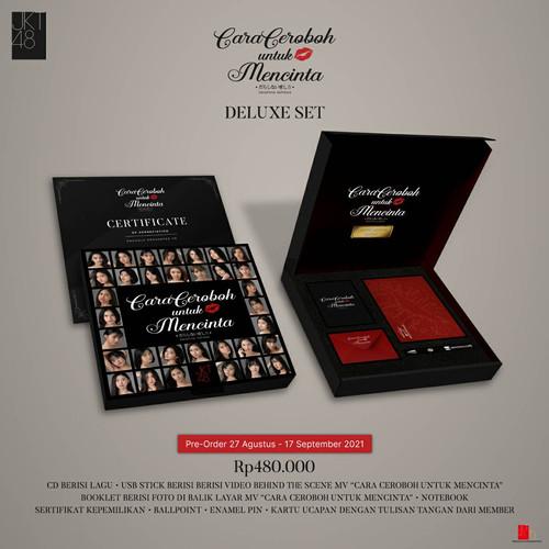 Foto Produk JKT48 Deluxe Set Cara Ceroboh untuk Mencinta (Darashinai Aishikata) dari JKT48 Official Shop