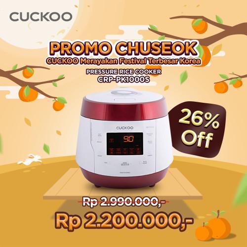 Foto Produk Cuckoo All in One Pressure Cooker CRP-PK1000S dari CuckooIndonesia