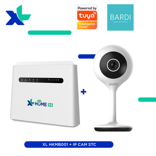 Foto Produk Bundling IP Cam Indoor STC + XL Home dari Bardi Official Store