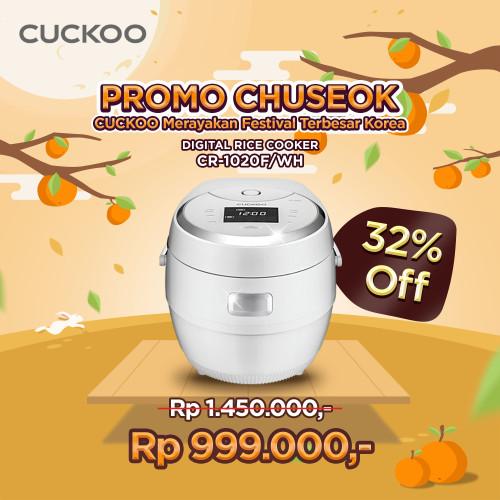 Foto Produk CUCKOO All in One MICOM Cooker CR-1020F/WH, No. 1 In KOREA dari CuckooIndonesia