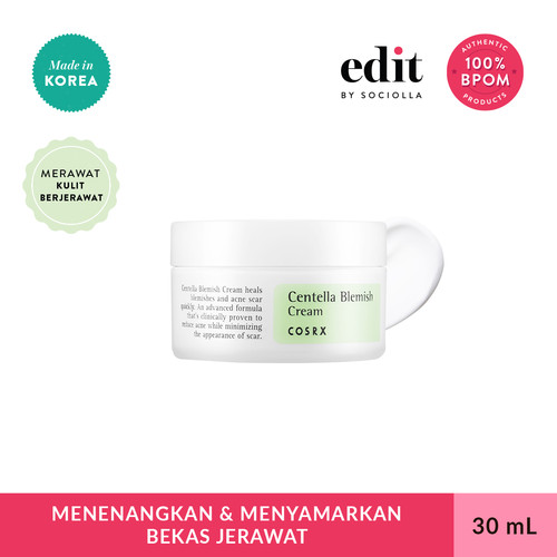 Foto Produk COSRX Centella Blemish Cream - 30 ml - Krim Totol Jerawat - Skincare dari Edit by Sociolla