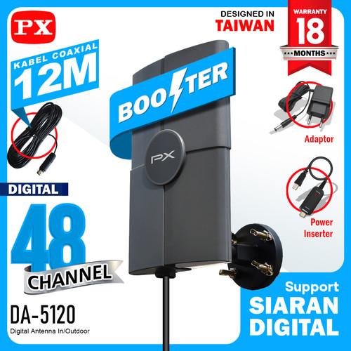 Foto Produk Antena Digital Tv PX DA-5120 Model terbaru Dari PX DA-5200 & DA-5700 dari Digital Shop Solution