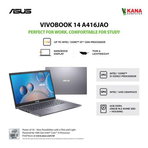Foto Produk Asus Vivobook A416JA FHD321 Core i3 1005G1+SSD 256GB +OHS dari kanakomputer