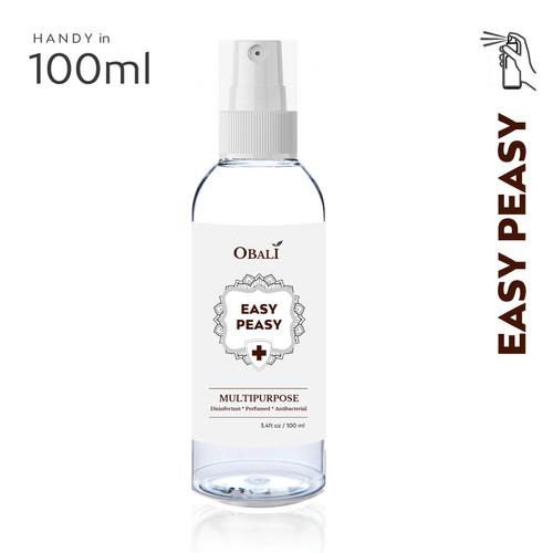 Foto Produk OBALI - Multipurposes Spray Disinfectant Sanitizer Antibacterial 100ml dari Obali House