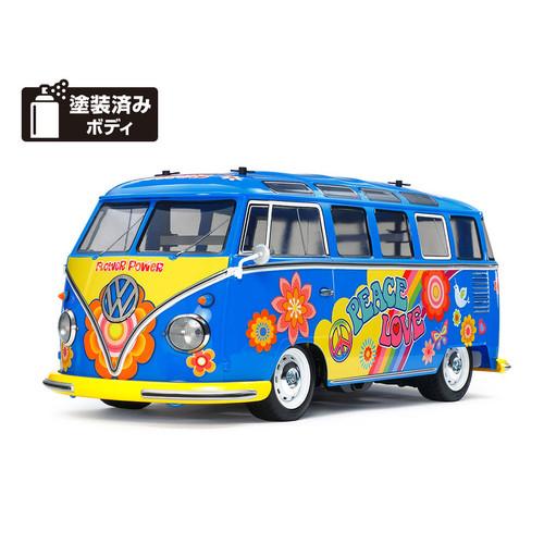 Foto Produk 47453 Tamiya Volkswagen Type 2 Flower Power (M-05 Chassis) dari Tamiyatoys