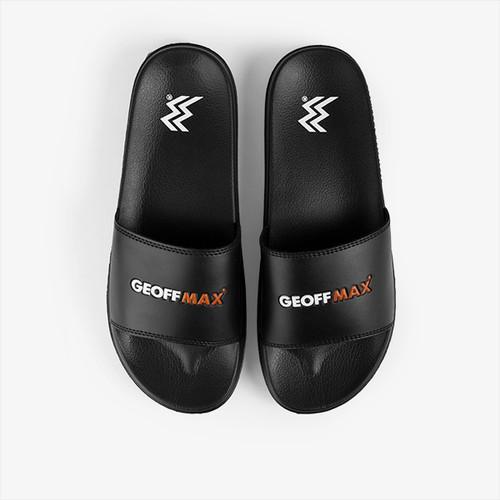 Foto Produk Geoff Max Official - Wigora Black   Slippers   Sandal Unisex - 42 dari Geoff Max Official