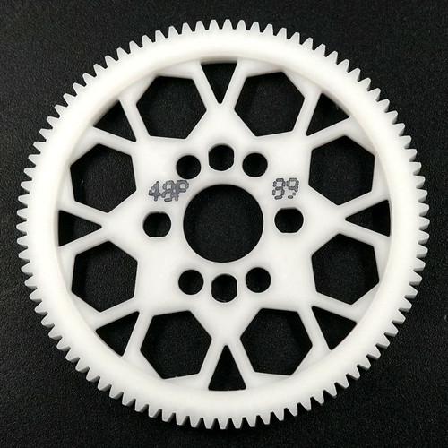 Foto Produk YR 48P 89T Competition Delrin Spur Gear (SG-48089) dari Tamiyatoys