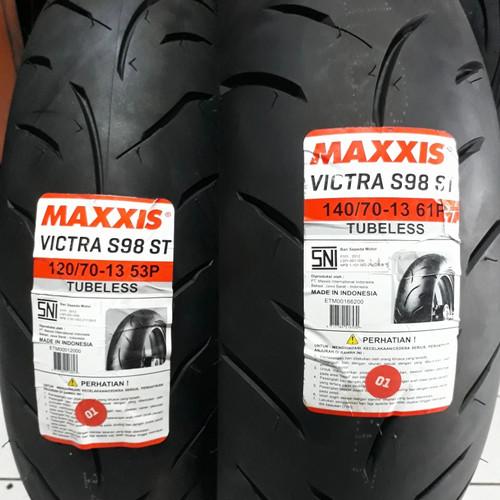 Foto Produk Ban NMAX MAXXIS SEPASANG uk 120/70-13 & 140/70-13 dari Proking