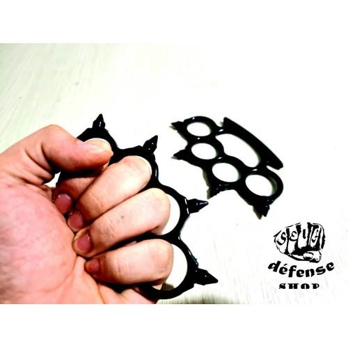 """Foto Produk Knuckle Duri Lancip Sepasang/Krakling Besi Baja""""Self Defense Shop"""" dari Self Defense Shop"""