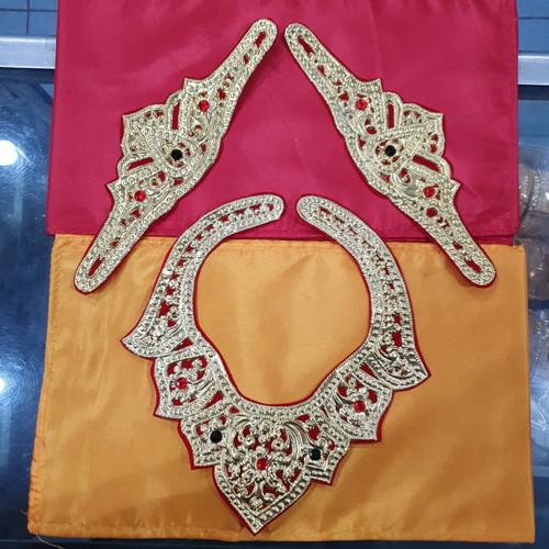 Foto Produk Badong Kalung dan plat bahu tari khas bali halus dari Restu_Ibu1