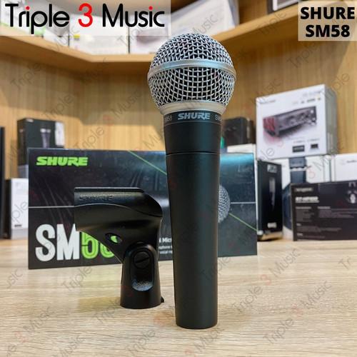 Foto Produk Shure SM58 Original Microphone Dynamic dari triple3music