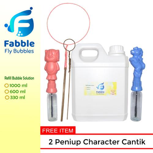Foto Produk Big Bubble Fabble Gelembung sabun 1 liter dari Fabble