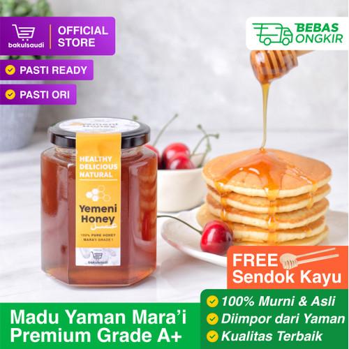 Foto Produk Madu Yaman Mara'i/Maro'i/Marai Grade 1 Asli 100% - 150gr dari bakulsaudi