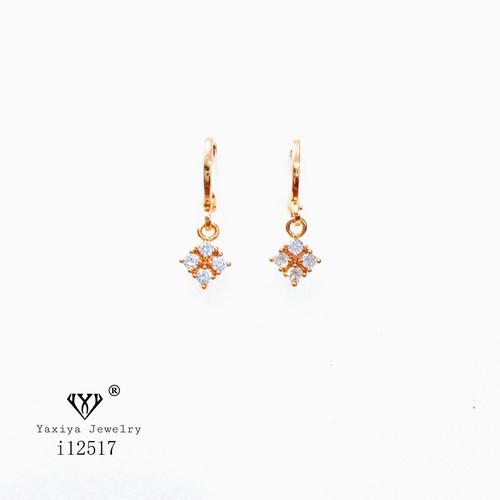 Foto Produk Anting Permata perhiasan imitasi gold 18k yaxiya i12148 - MODEL 1 dari YAXIYA JEWELRY