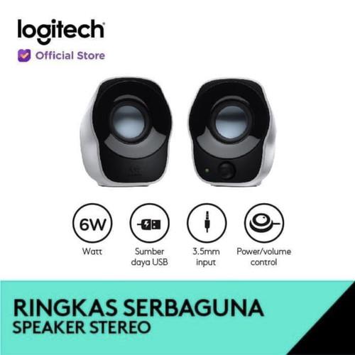 Foto Produk Speaker Logitech Z120 / Z 120 resmi garansi 1 tahun dari Click & Go