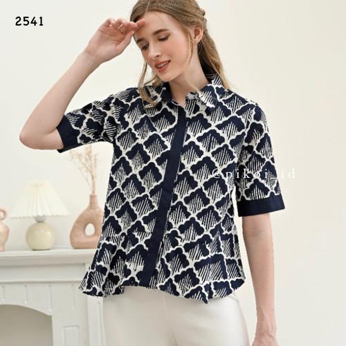 Foto Produk Baju batik murah / atasan batik wanita modern / blouse batik peplum - STANDARD dari Pikoi_id