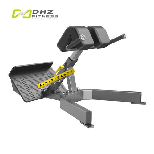 Foto Produk DHZ Back Extension Commercial E3045 Bangku Sit Up Fitness Komersial dari BinaragaNet