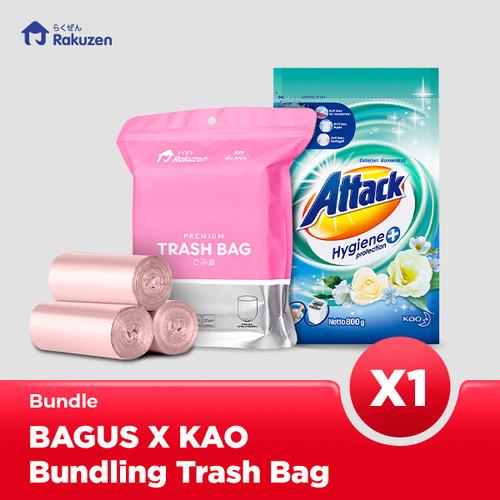 Foto Produk Bagus X Kao Bundling Trash Bag dari Bagus Official Store