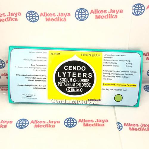 Foto Produk CENDO LYTEERS MINIDOSE - obat tetes mata dari alkes jaya medika