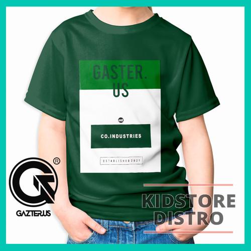 Foto Produk Baju / Kaos Distro Anak Laki-Laki / Motif Eighty Nine / Eighty Nine - HIJAU ARMY, S dari Kidstore_distro