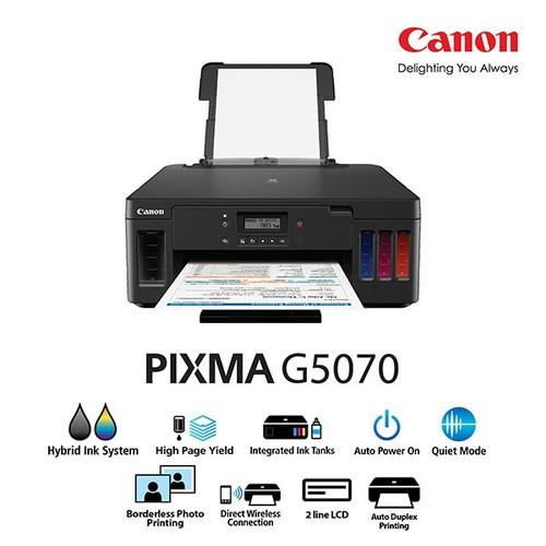 Foto Produk Canon Printer G5070 Multifungsi - Print - Scan - Copy - Wifi - LAN dari PojokITcom Pusat IT Comp