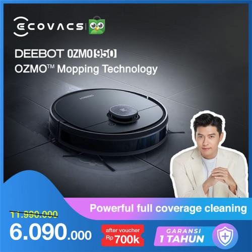 Foto Produk Ecovacs DEEBOT OZMO 950 Robot Vacuum Cleaner Vacum dari Ecovacs Indonesia