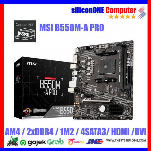 Foto Produk MSI B550M-A PRO dari silicon ONE Computer