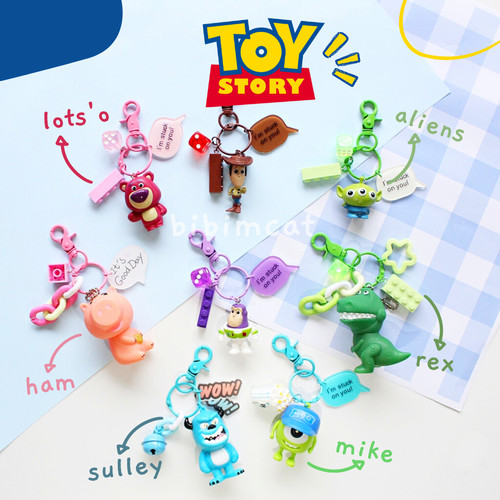 Foto Produk Gantungan Kunci Toy Story // Keychain Anak Lucu Toystory - Woody dari Bibimcat