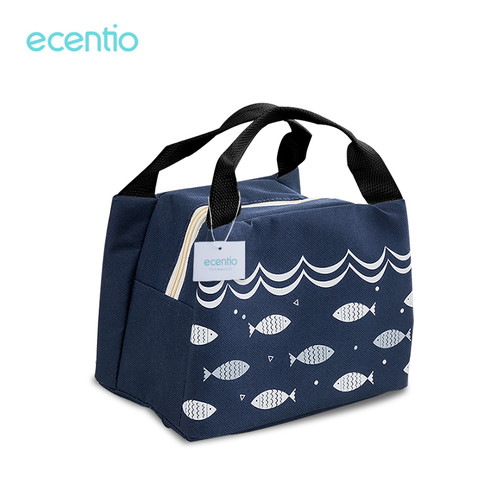 Foto Produk Kotak makan siang portabel Ecentio dua lapis / kotak makan siang 1600m - Tas makan414 dari ecentio Official Store