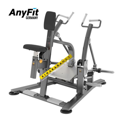 Foto Produk Seated Row Anyfit T04 Alat Fitnes Fitness Gym Punggung Komersial Impor dari BinaragaNet