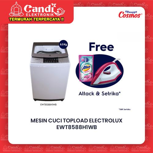 Foto Produk ELECTROLUX MESIN CUCI TOPLOAD EWT8588H1WB / EWT 8588H1WB / 8588 8,5KG dari Candi Elektronik Solo