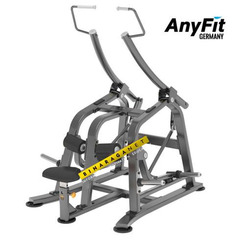 Foto Produk Pulldown Anyfit T02 Alat Olahraga Fitness Gym Dada Komersial Import dari BinaragaNet