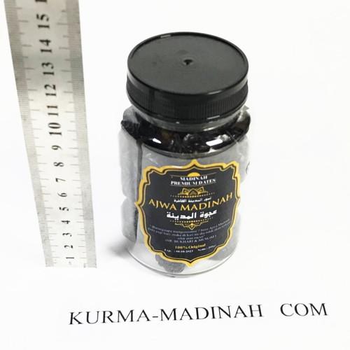 Foto Produk Kurma Ajwa Kurma Madinah Kurma Nabi Asli Grade B 200 gram 200gr import dari yogyaponsel