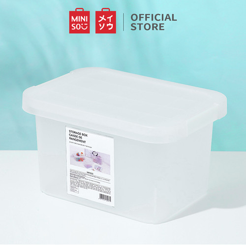 Foto Produk MINISO Matte Storage Box Organizer Multifungsi, Kecil / Sedang - Small dari Miniso Indonesia