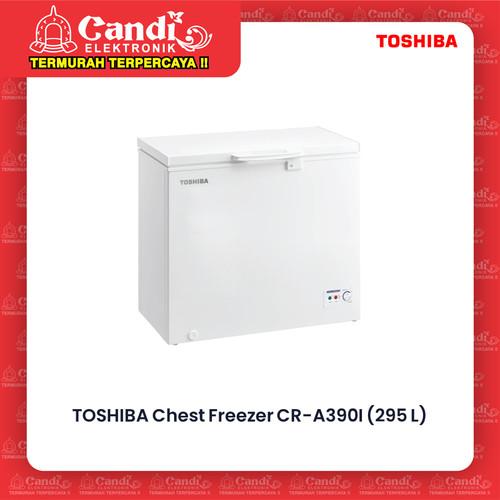 Foto Produk TOSHIBA BOX FREEZER CR-A390I / CR A390I / CRA390I Chest Freezer 295L dari Candi Elektronik Solo
