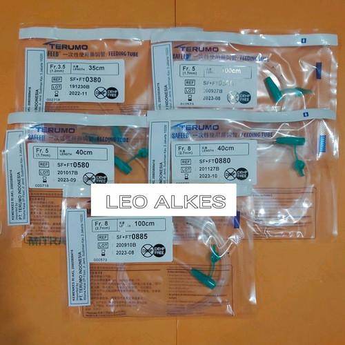 Foto Produk Feeding tube fr 3,5..5..8 / ngt terumo / selang makan - FR 3.5 35cm dari LEO ALKES