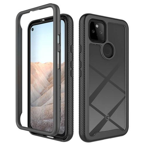 Foto Produk Hybrid Armor Case Google Pixel 5a 5G - Acrylic Clear Casing PC TPU Fit dari Logay Accessories