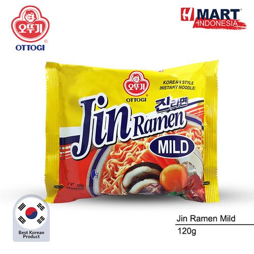 Foto Produk Ottogi Jin Ramen Mild 120g - Mild dari H Mart Official Shop