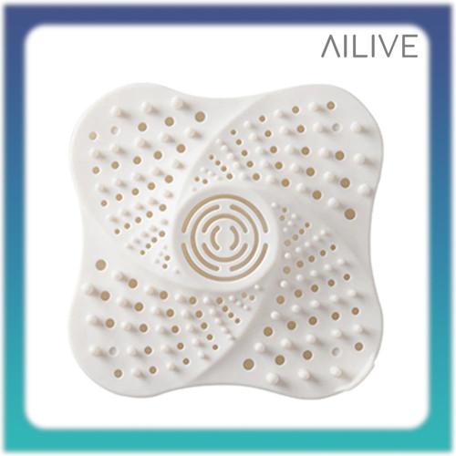 Foto Produk Filter Saluran Pembuangan Air Kamar Mandi Anti Rambut Anti Blocking - Putih dari Ailive Store