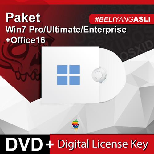 Foto Produk Paket Windows 7 Pro/Ultimate/Enterprise & 2016 Pro Plus Original - DVD - W7Pro+O2016 dari osx.id
