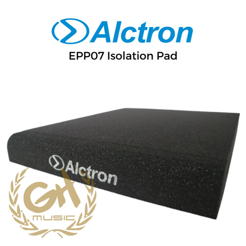 Foto Produk 2 PCS ISOLATOR PAD BUSA PEREDAM ALAS SPEAKER MONITOR ALCTRON EPP07 dari GH MUSIC STORE