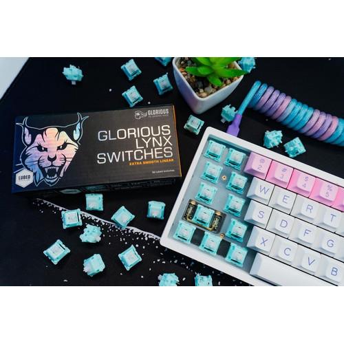 Foto Produk GLORIOUS LYNX Linear Switch - Gaming Switch Keyboard - UNLUBED dari Apparel Gaming