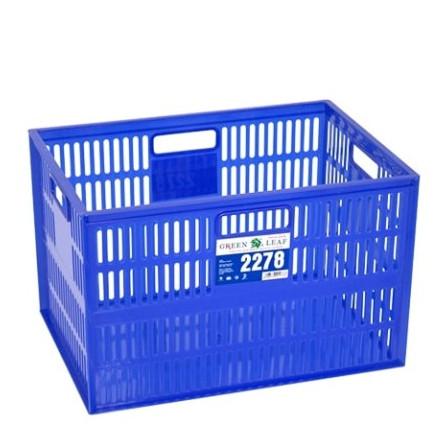 Foto Produk Green Leaf 2278 Container Keranjang Industri Lubang Plastik Box dari MagicSun